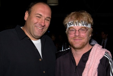 James Gandolfini & Philip Seymour Hoffman